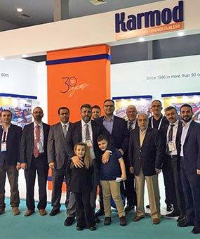 Karmod välkomnade sina gäster från 123 länder i MUSIAD EXPO 2016