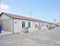Arbetsplatsbyggnader på den 3: flygplatsen blev färdigställd av Karmod