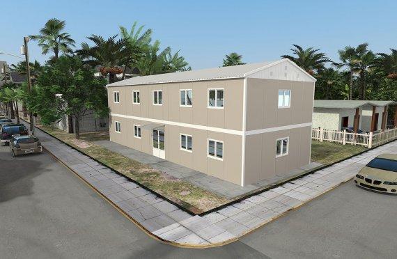 Modulär Kontor Byggnad 214 m²