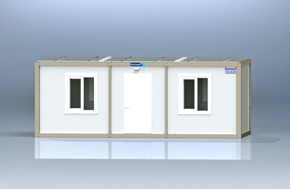 Flat Pack Kontor Container K1002