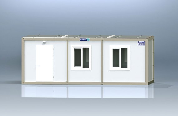 Flat Pack Kontor Container K1001