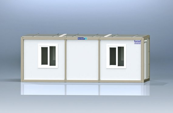 Flat Pack Kontor Container K1003