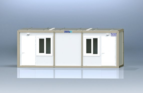 Flat Pack Kontor Container K2001