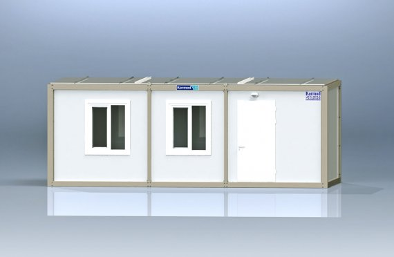 Flat Pack Kontor Container K2005