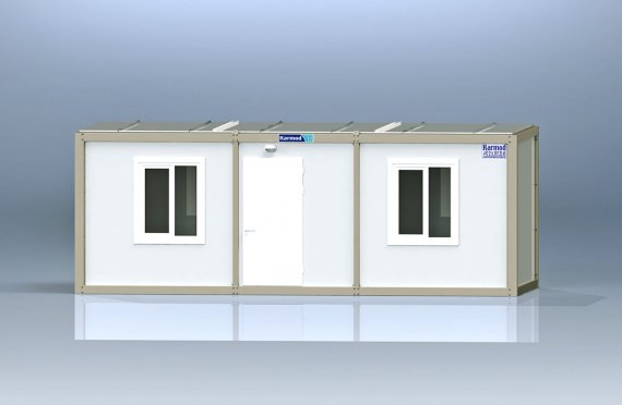 Flat Pack Kontor Container K7001