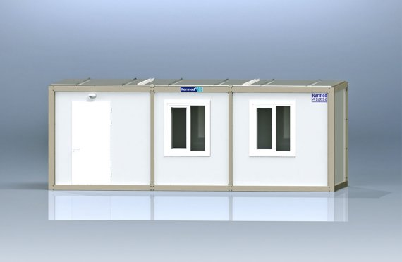 Flat Pack Kontor Container K8001