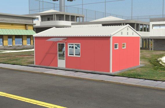 Modulär Kontor Byggnad 40 m²