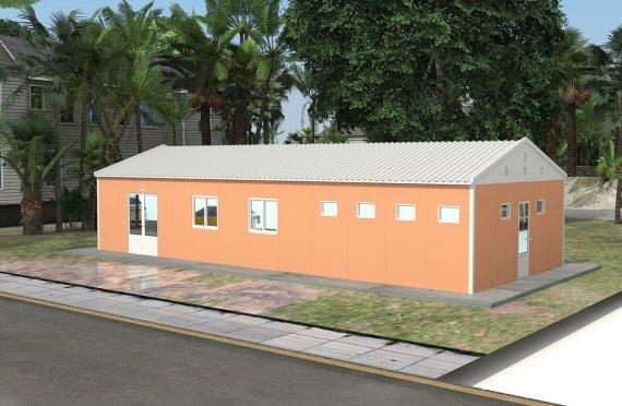 Modulär Kafeteria 98 m²