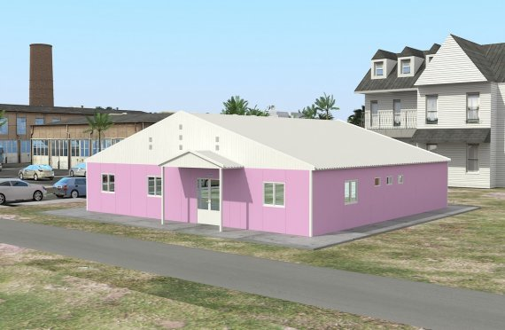 Modulär Laboratorium 222 m²