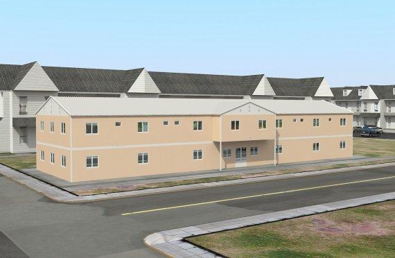 Modulär Social Facilitet 793 m²