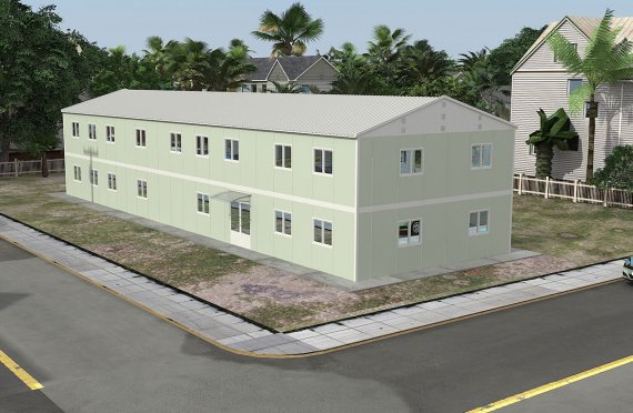 Modulär Kontor Byggnad 463 m²