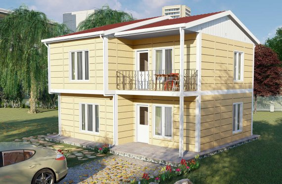 Modulhus Villa 137 m2