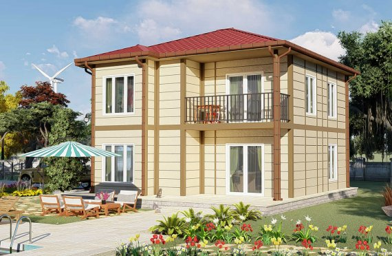 Modulhus Villa 138 m2