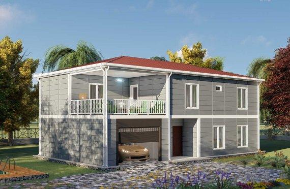 Modulhus Villa 206 m2