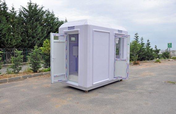 150x270 Portabel Toalett & Säkerhetsstuga