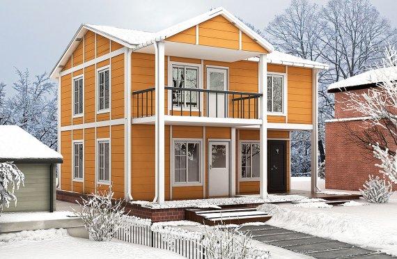 Prefabricerade Hus 112 m²
