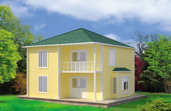 Prefabricerade Hus 124 m²