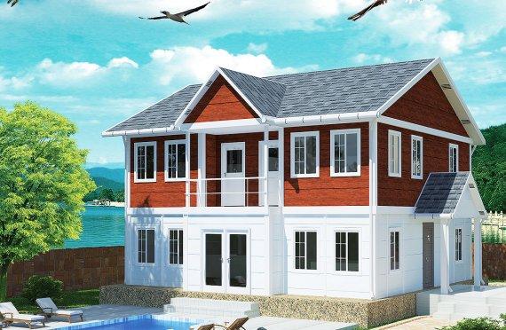 Prefabricerade Hus 125 m²