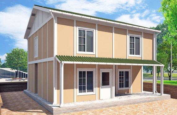 Prefabricerade Hus 127 m²