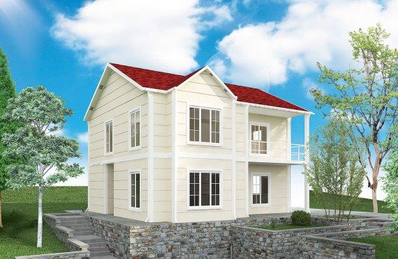 Prefabricerade Hus 132 m²