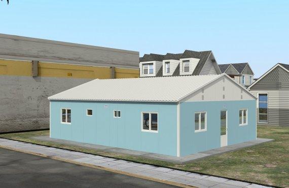 Modulär Bostad Enhet 102 m²