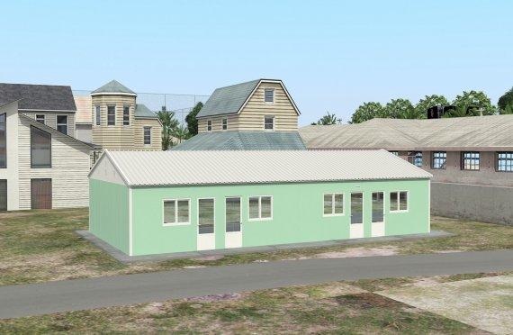 Modulär Bostad Enhet 117 m²