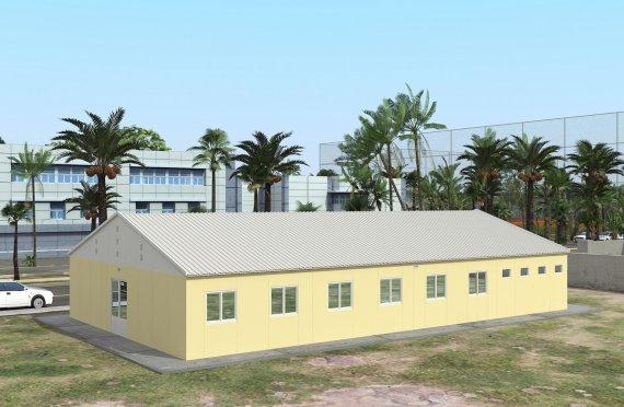 Modular Bostad Enhet 232 m²