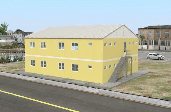 Modulär Bostad Enhet 348 m²