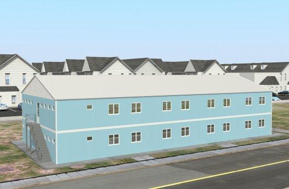 Modulära Bostad Enhet 736 m²