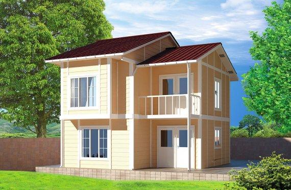 Prefabricerade Hus 91 m²