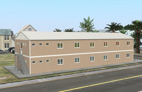 Modulär Bostad Enhet 474 m²