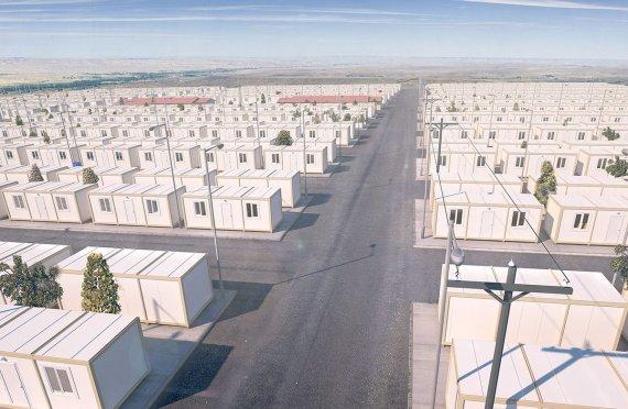 Tillfälliga Flyktingläger