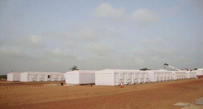 Karmod har avslutat ett arbetarläger med kapacitet för 250 personer i Somalia