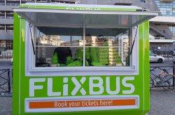 Flixbus biljettbås i Frankrike från Karmod