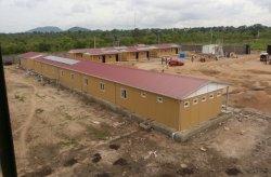 Karmod slutförde militära anläggningar i Nigeria