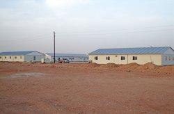 Algeriet Prefabricerad Byggarbetsplats Komplex