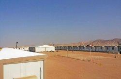 Vi etablerade byggarbetsplatser för guldgruvanarbetare i Guinea