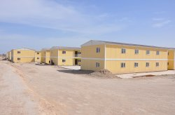 Karmod bygger prefabricerad stad för 10 000 personer på 7 månader