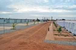 Installation av den administrationsbyggnaden avslutades i Senegal