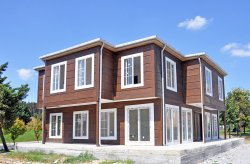 Dubbeltvånings Prefabricerad Hus
