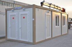 Toalett/Dusch Container